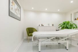 body treatments room