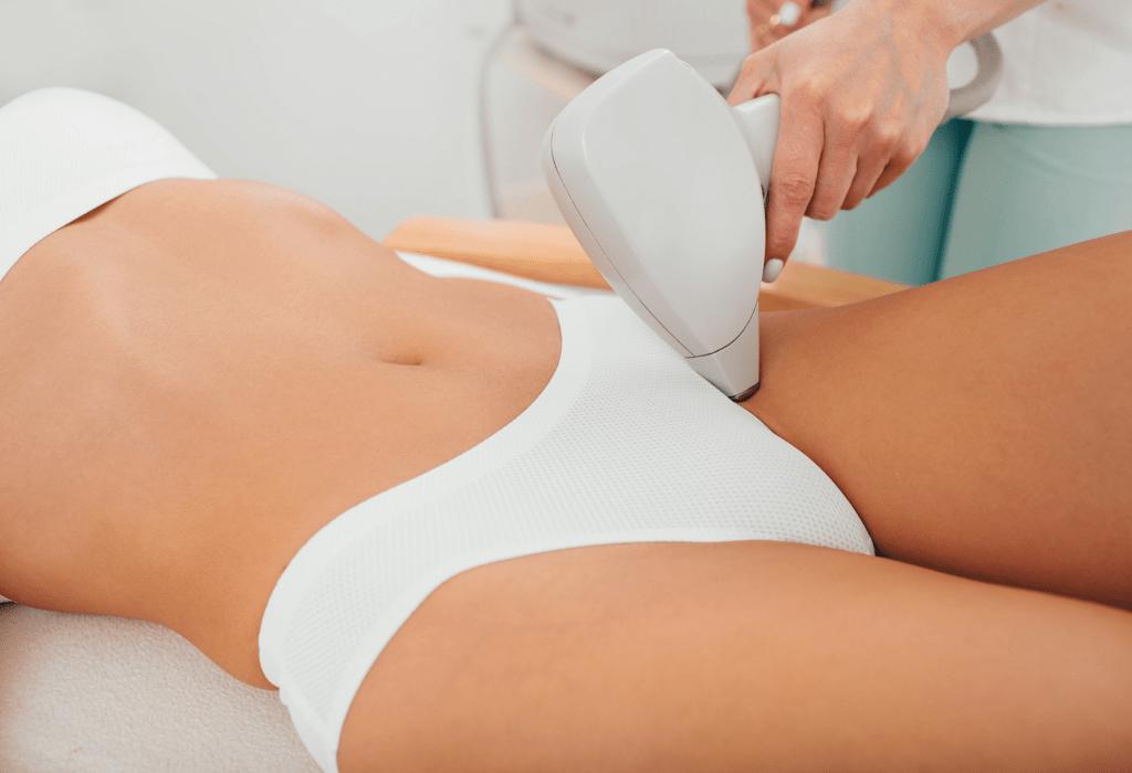 laser hair removal bikini area