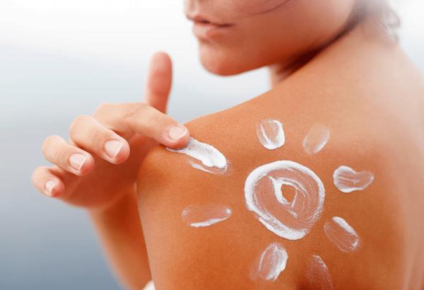 cream sunscreen