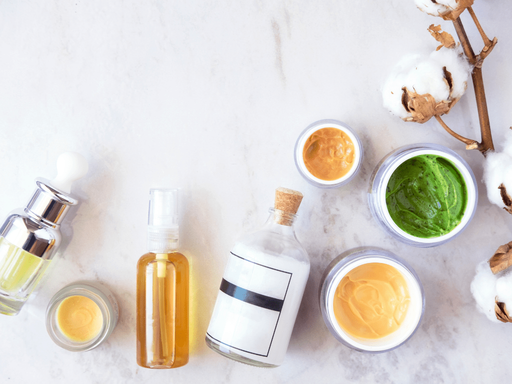acne oils and creams
