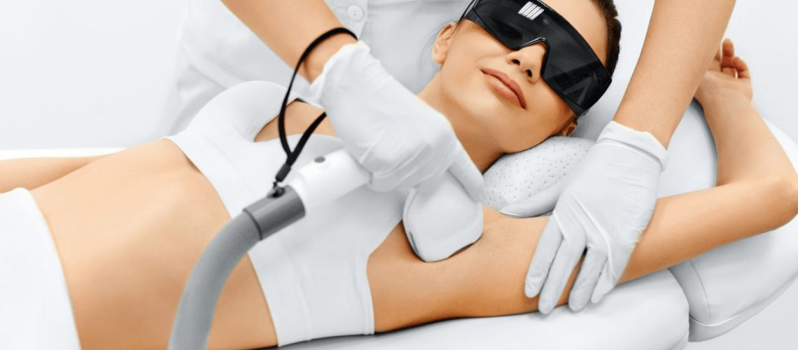 laser hair removal procedure, permanent hair reduction, armpit hair reduction